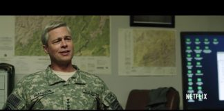 Brad Pitt em War Machine