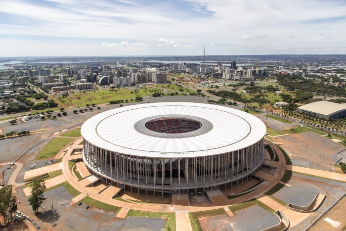 Estádio Nacional Mané Garrincha, em Brasília