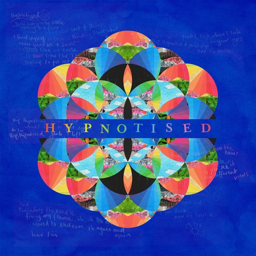 "capa do single ""hypnotised"" do coldplay"
