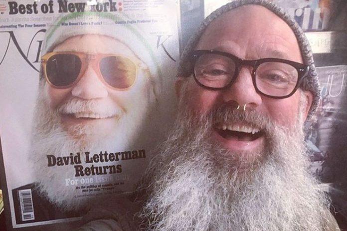David Letterman e Michael Stipe