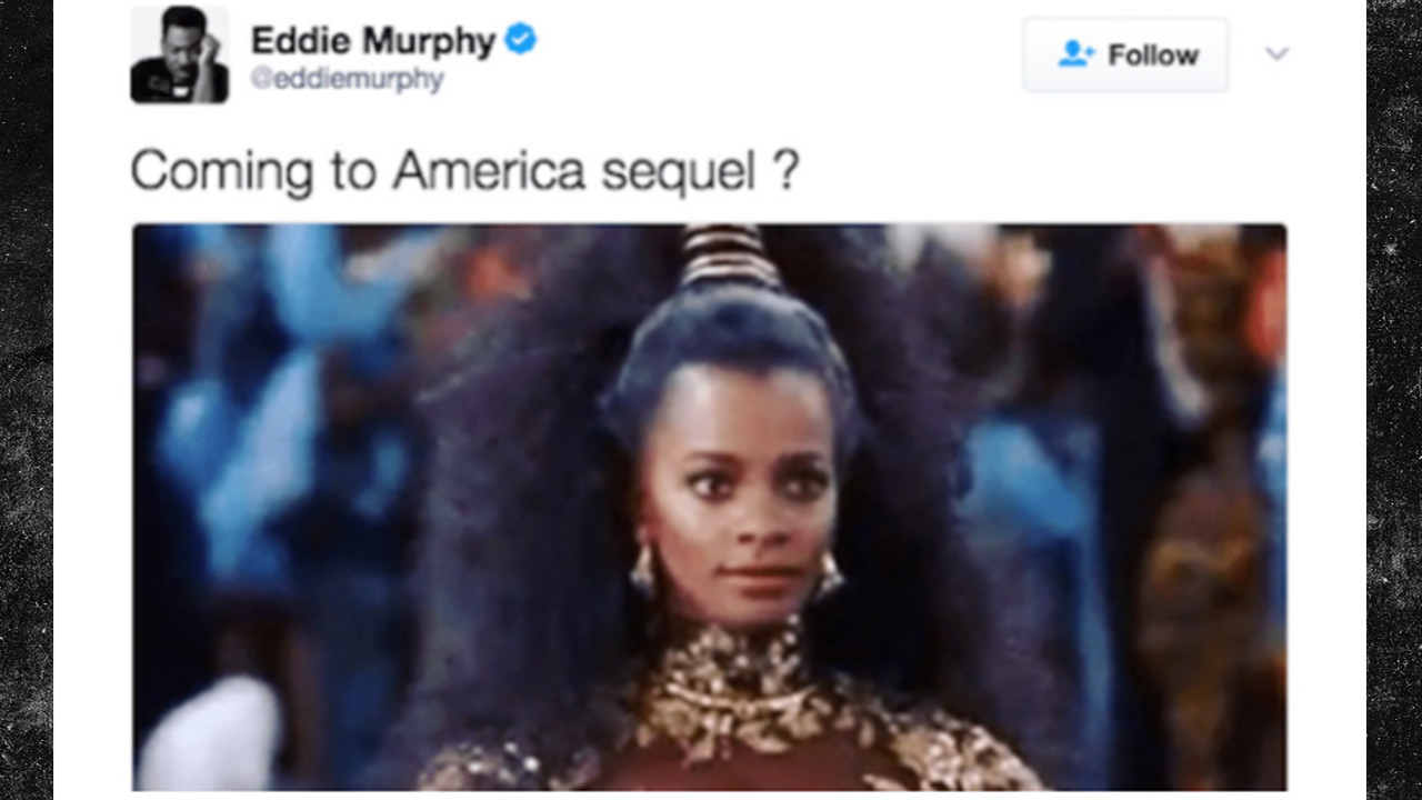 Tweet de Eddie Murphy