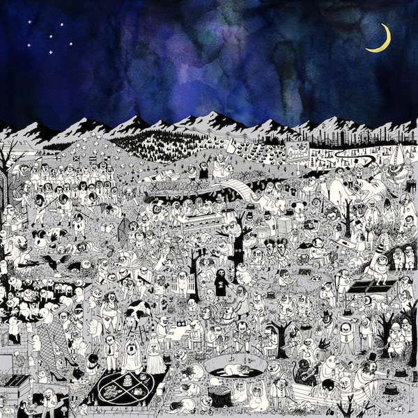"capa do disco ""pure comedy"" do father john misty"