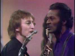 John Lennon e Chuck Berry
