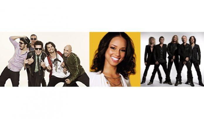 Jota Quest, Alicia Keys e Def Leppard no Rock In Rio