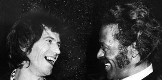 Keith Richards e Chuck Berry
