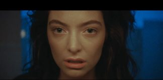 Lorde no clipe de Green Light