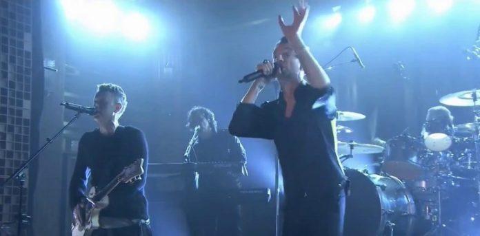 Depeche Mode no programa de Jimmy Kimmel