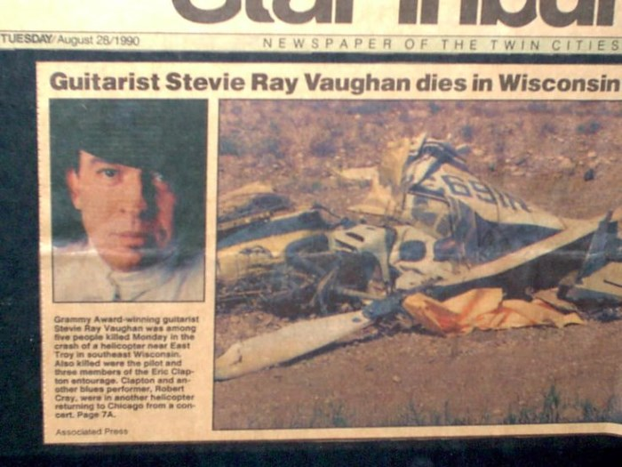 Acidente de Stevie Ray Vaughan
