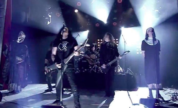 Kreator com Ghost na TV