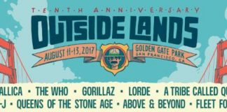 Outside Lands 2017 lineup