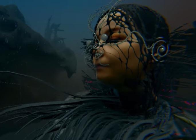 Clipe de Notget, de Björk