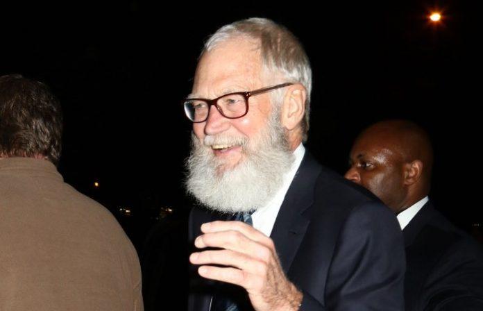 David Letterman em 2016