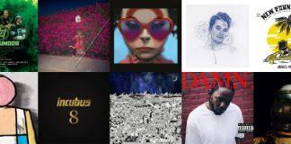 Lançamentos de discos de Abril 2017