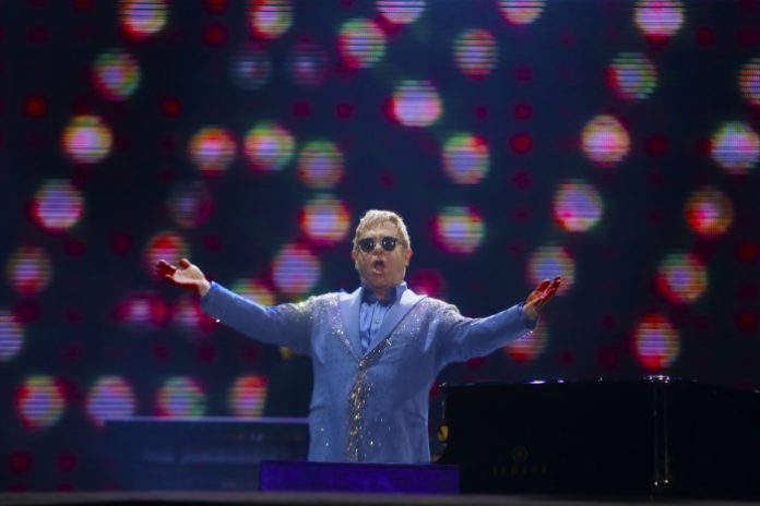 Elton John no Rock In Rio 2015