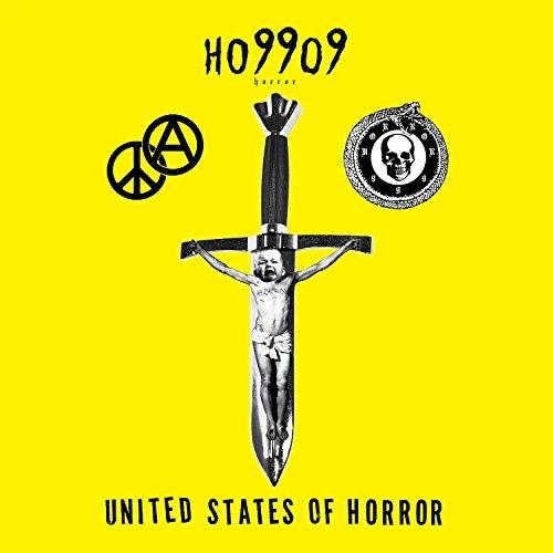 "capa do disco ""united states of horror"" do ho99o9"