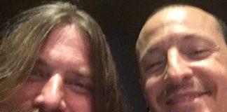 Mark Monton e Chester Bennington