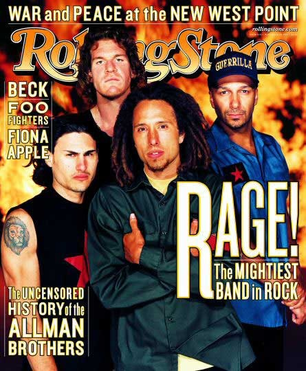 Rage Against The Machine na Rolling Stone