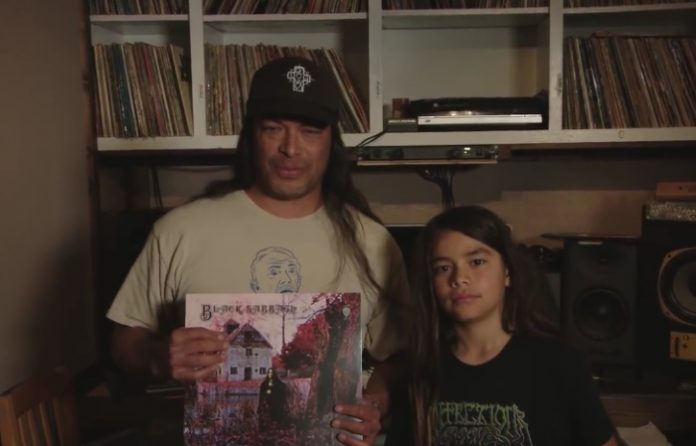 Robert Trujillo e seu filho, Tye