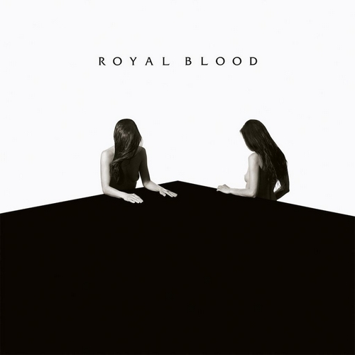 "capa do disco ""how did we get so dark?"" do royal blood"