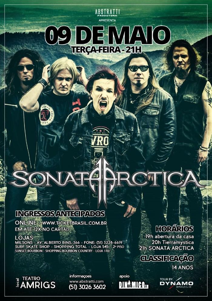 Sonata Arctica em Porto Alegre