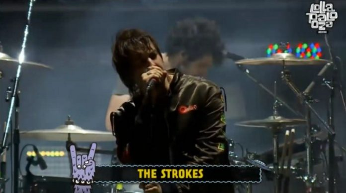 The Strokes no Lollapalooza Argentina