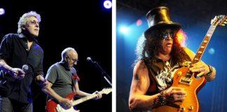 The Who e Slash, do Guns N Roses