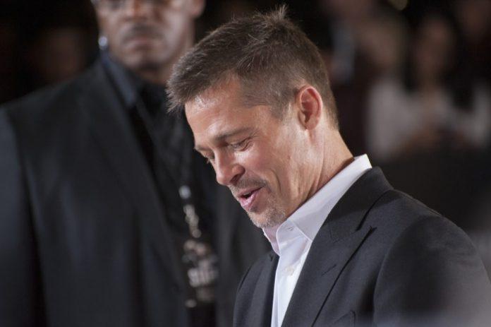 Brad Pitt em 2016