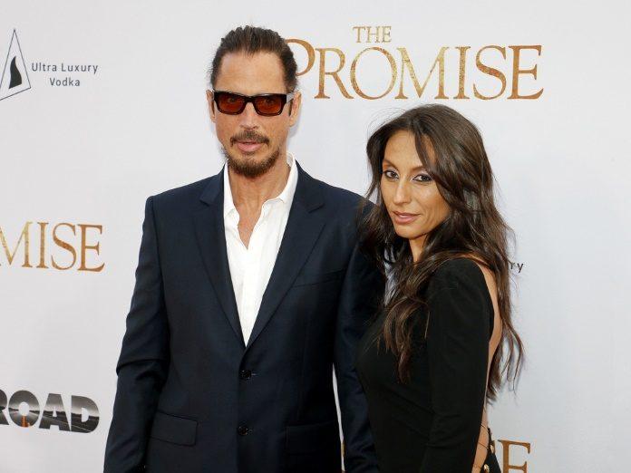 Chris Cornell e Vicky em Abril de 2017