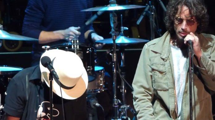 Eddie Vedder e Chris Cornell