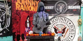 Johnny Ramone no Hollywood Forever Cemetery