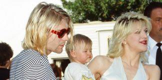 Kurt Cobain, Frances Bean e Courtney Love