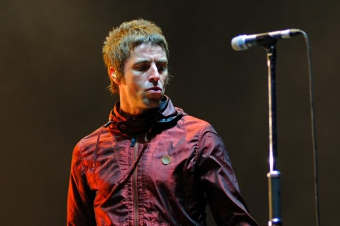 Liam Gallagher em 2013