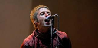 Liam Gallagher em 2013 com o Beady Eye