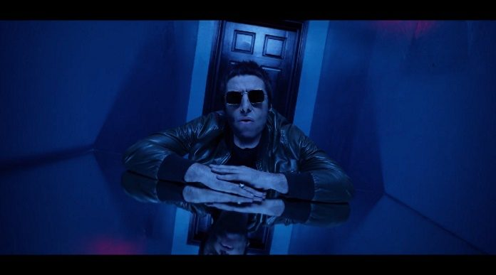 Liam Gallagher em Wall Of Glass