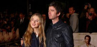 Noel Gallagher e Anais, sua filha