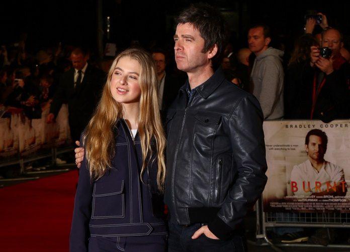 Noel Gallagher e a filha, Anais