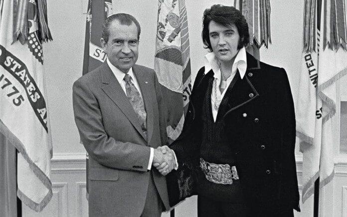 Richard Nixon e Elvis Presley