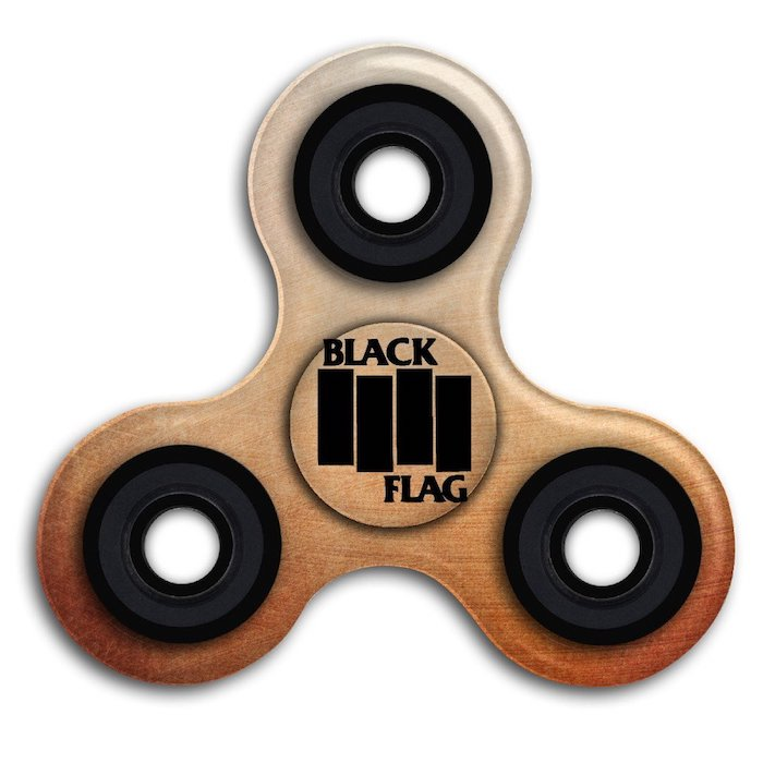 Fidget Spinner - Black Flag