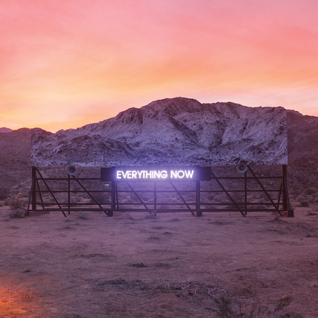 Arcade Fire - Everything Now capa