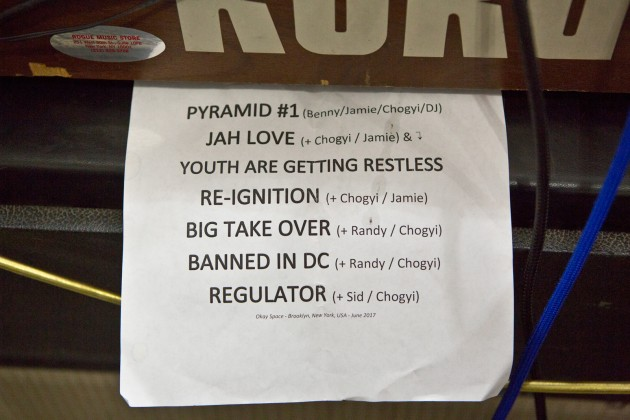 Bad Brains - setlist