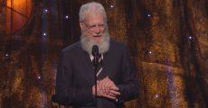 David Letterman - Pearl Jam Hall da Fama