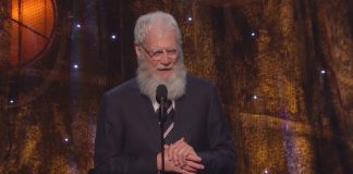 David Letterman - Pearl Jam Hall da Fama