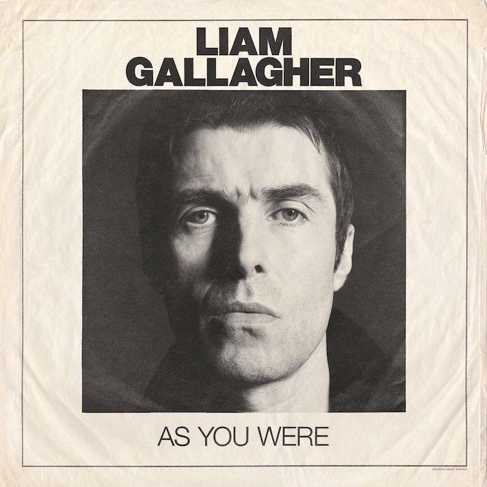 Liam Gallagher - As You Were capa