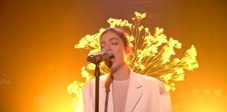 Lorde no programa de Jimmy Fallon