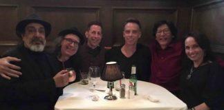 Membros do Soundgarden em jantar