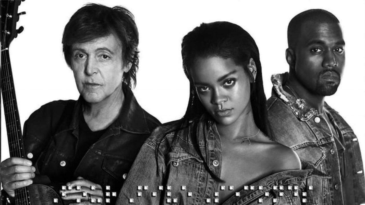 """Paul McCartney fala sobre parceria com Rihanna e Kanye West: """"poderia ter  dado errado"""""""