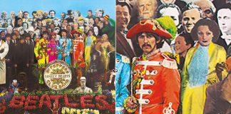 Sgt. Pepper's - Beatles leilão recorte capa