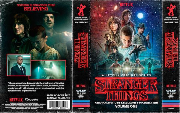 Stranger Things - K7 capa