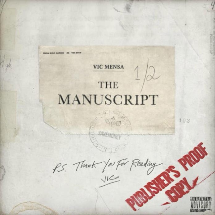 Vic Mensa - The Manuscript EP capa