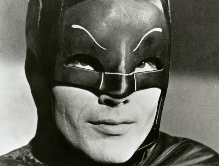 Adam West como Batman